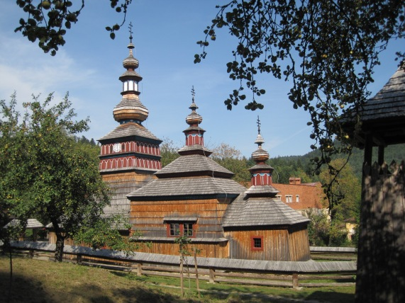 A Rusyn wooden church