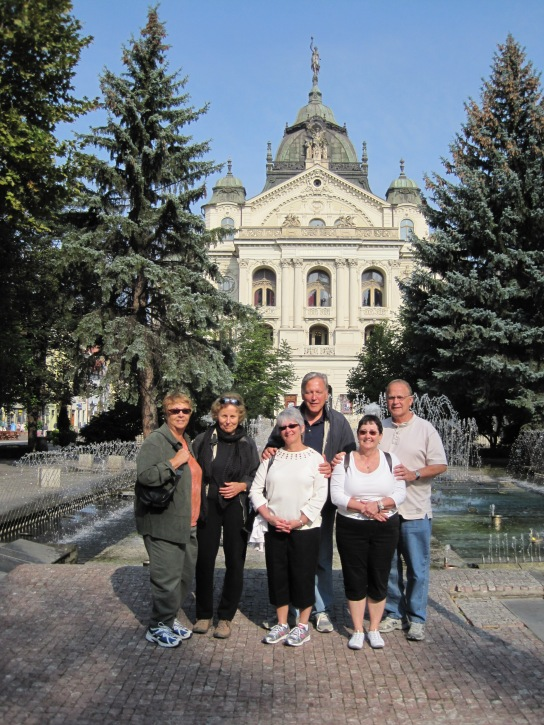 Kosice's Singing Fountain