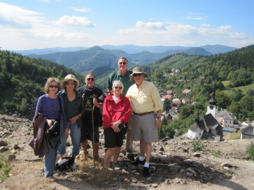 A short walk through the village of Spania Dolina.