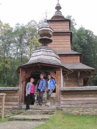 Exploring the Saris Village Museum.