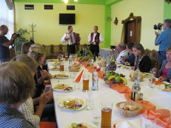 A festive Slovak dinner at Josef's.