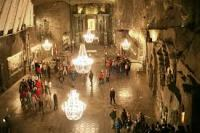 Take an afternoon trip to the incredible Wieliczka Saltmines outside of Krakow.
